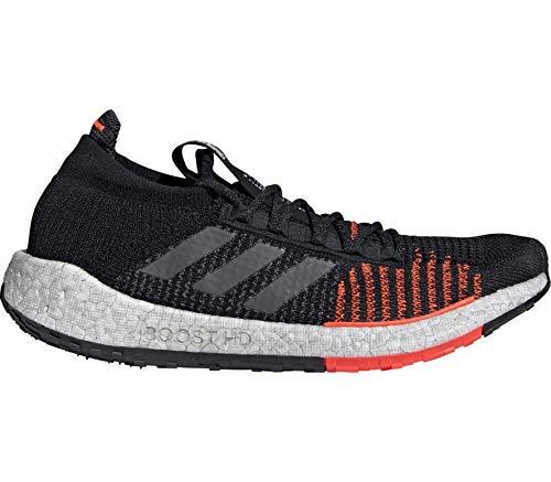 adidas Pulse Boost HD M Black Grey Solar Red 46.5