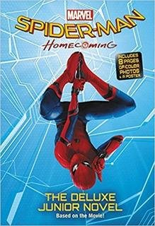 Spider-Man Homecoming Movie Novel