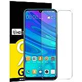 NEW'C Pacco da 3 Pezzi Pellicola Protettiva in Vetro Temperato per Huawei P Smart 2019, Honor 10 Lite, Honor 8A