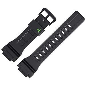 Casio Uhrenarmband Ersatzband 27mm Kunststoff Schwarz – STL-S100H