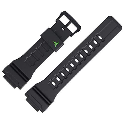 Casio Uhrenarmband Ersatzband 27mm Kunststoff Schwarz - STL-S100H