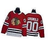 GSPURS Kane Jersey Blackhawks Eishockey Toews Trikots # 00 Griswold Herren Sweatshirts Damen Langarm T-Shirt