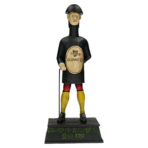 AB Tools Guinness Mann Geld, Bank Stout Bier Brauerei Flasche geformte Figur Statue