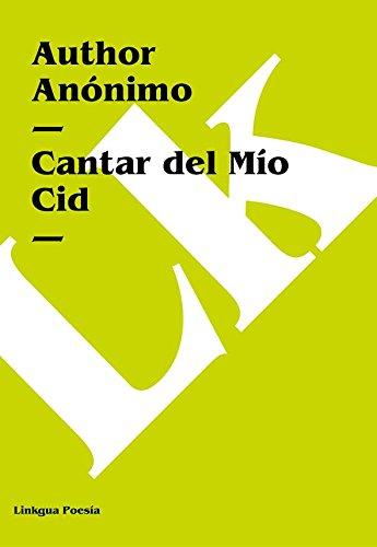Cantar del Mio Cid Cover Image