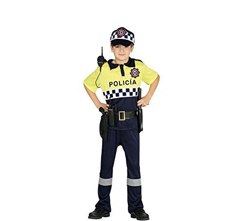 Imagen de disfraz de policía local para niños