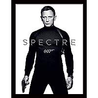 """James Bond """"Spectre - Black and White Teaser Framed Print, Multi-Colour, 30 x 40 cm preiswert"""