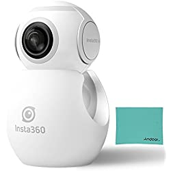 Insta360 Air Panorama 210 pisces oculaire grand-angle HD lentille 3K Ultra clair Type C interface caméra pour OPPO R9/Huawei P9/Mate9/LG V20 et d'autre téléphones Android