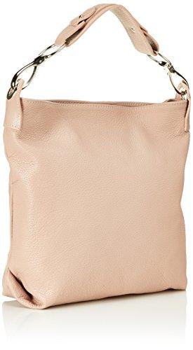 Bags4Less - Yenna, Borse a spalla Donna Rosa (Nude)