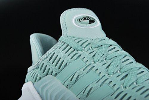 adidas Climacool 02/17 W, Chaussures de Running Femme Multicolore - vert/blanc (Vertac / Vertac / Ftwbla)