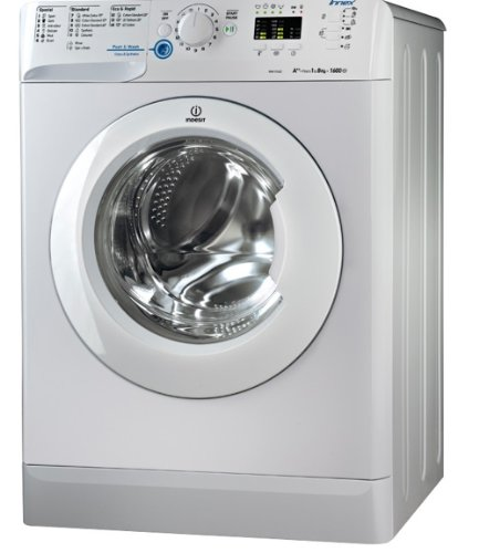 Indesit Innex BWA81483XSUK 8 Kilogram Washing Machine with 1400 rpm Silver