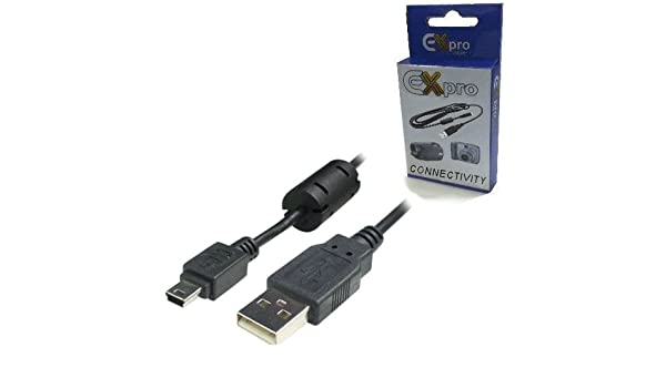USB Data Sync Cable Lead For Olympus Camedia Zoom C-50//C-120//C-150//X-1
