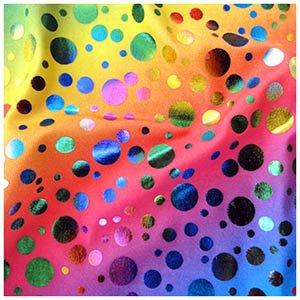 Imagen de uramermaid holografico colas de sirena para natación  con monoaleta 2 piezas sirena disfraz  rihanna's arcoiris burbujas, 6 7 alternativa