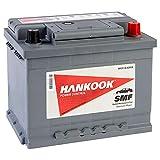 Hankook 62Ah Voiture Batterie 12V 62Ah 540CCA