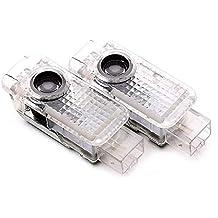 Motoeye - Proyector de luces LED para puerta de coche, 5 W, para Passat