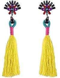 7d60a74c2cbd LAAT Weave Borla Pendientes Pendientes de Flecos Bohemios para Mujer para  Regalo de cumpleaños Decoración de