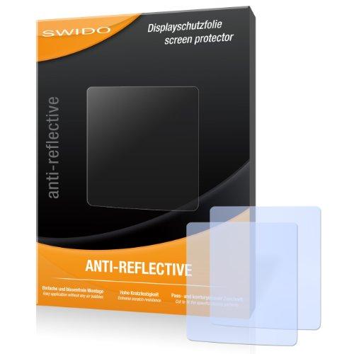 SWIDO X063065 anti-reflektierende hartbeschichtet Bildschirmschutzfolie für TomTom Nike+ Sportwatch GPS (2-er Pack)