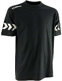HUMMEL - T-Shirt Spiral Noir/Blanc