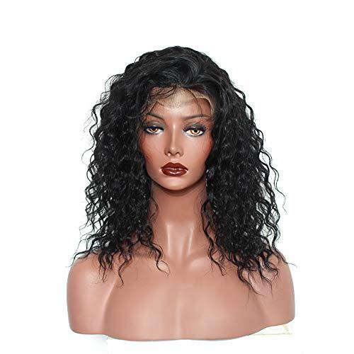 Perücke Wig Schwarz Hair Damen 80Er 70Er Afro Lace Front Bob Langhaar Lockige Locken Cosplay Human Curly Synthetic -