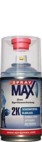 Spray Max 2K - Vernice trasparente per fanali, 250 ml