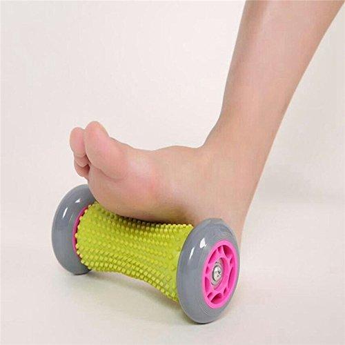 Rodillo del masaje del pie, FLYING_WE Rodillo de músculo para rodillos, muñecas y antebrazos Rodillo de ejercicios para fascitis plantar.