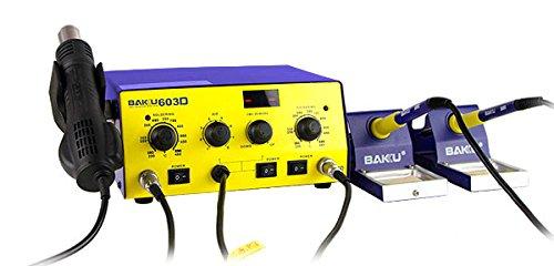 Infocoste – Estacion soldadura aire caliente 550w baku-603d