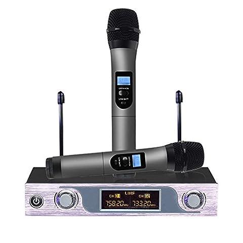 Microphone Professionnel Sans Fil Micro Sans Fil VHF Micro HF