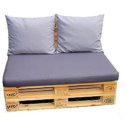 Cojines, almohadas para europalets, set de 3 almohadas