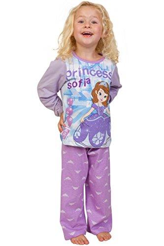 Thepyjamafactory - pigiama disney a tema di sofia la principessa, per bambine dai 3 ai 6 anni pink 4-5 anni