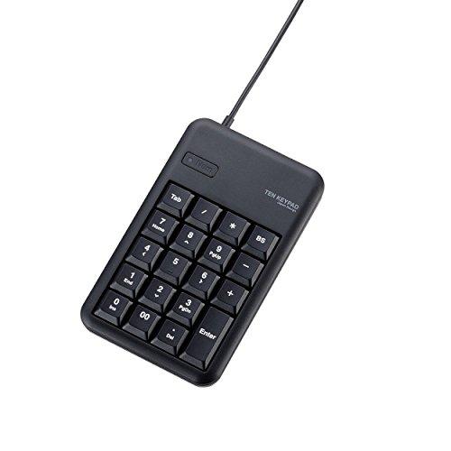 ELECOM Verdrahtet 10-Key Board Kleiner Membran Heavy Duty USB Hub mit TK–tcm014Serie, BLK
