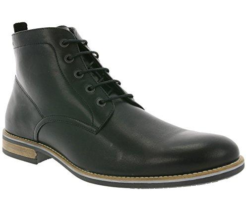 Marc Shoes Herren Frisco Bootsschuhe Schwarz (Black 00042)
