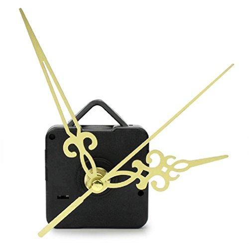 Einfache Kleine Wanduhr (Ularmo Wanduhr Kleine Einfache Dekowanduhr, Gold & Schwarz)