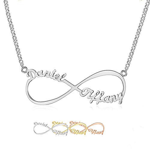 Grand Made Name Necklace Infinito Nombre Personalidad