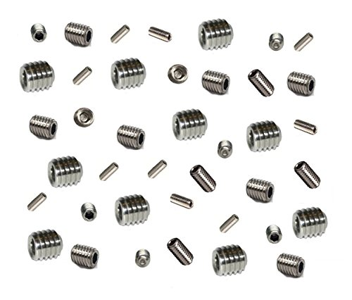 grub-screws-metric-thread-mixed-40-pack-a2-stainless-steel-10-x-m3m4m5-m6-x-5mm-socket-cup-point-all
