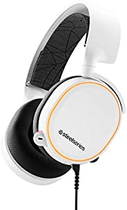 SteelSeries Arctis 5 - RGB-verlichte gaming headset - DTS Headphone:X v2.0 Surround - PC en PlayStation 4 - Wit PC