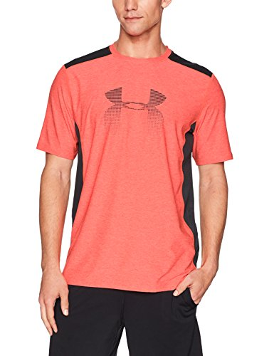 Under Armour Damen UA Raid Graphic SS Kurze Hose, Marathon Red, XL (Kurz Ss-xl-t-shirts)