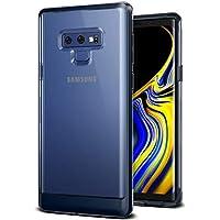 VRS Design Galaxy Note 9 hülle, [Deepsea Blue] Halbtransparente Dual Layer Heavy Duty Schutz [Crystal Bumper] Anti-Yellowing TPU Körper PC Stoßdämpfer für Samsung Note 9 (2018)
