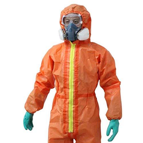 Protezione generale e sicurezza Indumenti di protezione da lavoro chimici, vernice acido solforico, acido isolato e tuta protettiva alcalina (dimensioni : XXL)