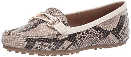 Aerosoles Damen Schlupfschuhe im Stil des Along Driving Style, Braun (Tan Snake), 42 W EU Tan Snake Schuhe