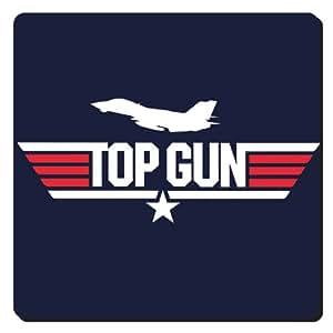 Top Gun Logo Coaster, Featuring F-14A Tomcat Silhouette