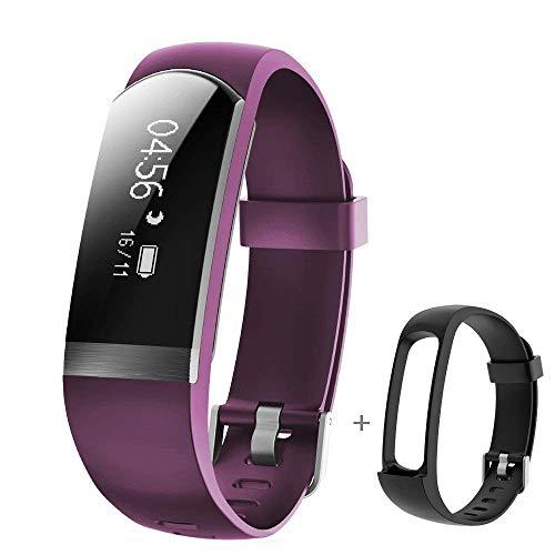 YAMAY Fitness Tracker, Fitness Armband mit Pulsmesser Herzfrequenz Wasserdichte IP67 Aktivitätstracker Fitness Uhr Pulsuhren Smart Armbanduhr Schrittzähler für iPhone Android Handy