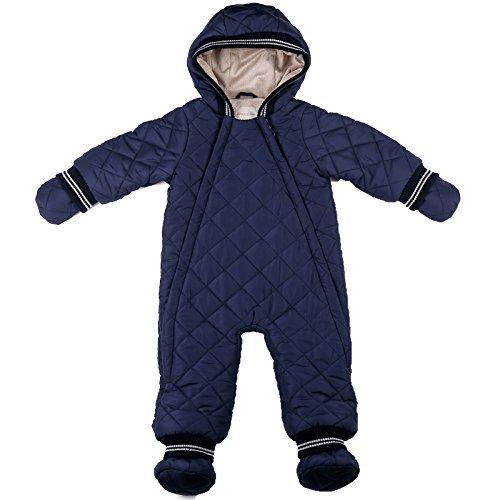 oceankids-bebe-ninos-azul-marino-invierno-recien-nacido-total-onesie-algodon-nevoso-9-12-meses