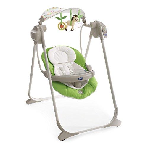 Chicco 7911015 - polly swing up altalena per neonati - colore verde