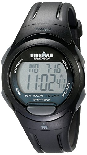 Timex Damen-Armbanduhr Ironman 10 Lap Digital Plastik - Timex Band 16mm Watch