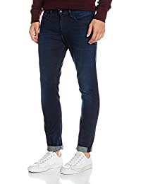Calvin Klein Jeans Slim Straight-True Worn Blue, Jeans Homme