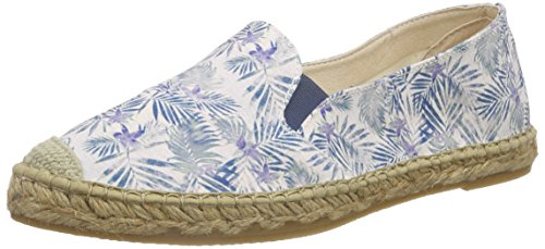 MacarenaTROPICAL - Espadrillas Donna , Blu (Blau (AZUL)), 38