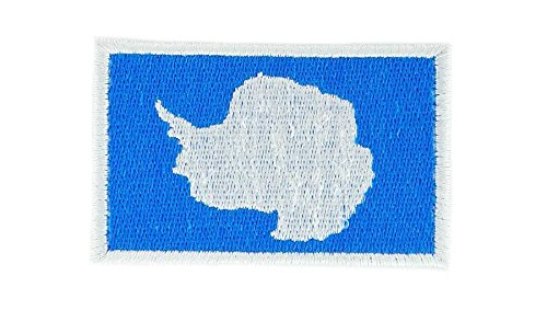 - Aufnäher Patch Flagge zum Aufbügeln backpack antartique Nordpol
