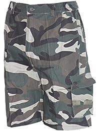 Waooh - Bermuda Court Cargo Camouflage Baman