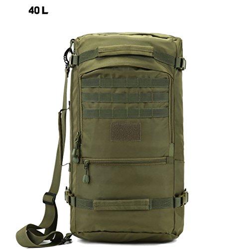 MYS Travel bag M-Y-S Outdoor-Männer Und Frauen Schulter Reisetasche Mit Großer Kapazität 40L / 50L / 60L Rucksack Spezialkräfte Commandos In Tarnung Rucksack Anwendbar 15.6 Zoll Notebook/Laptop/PC