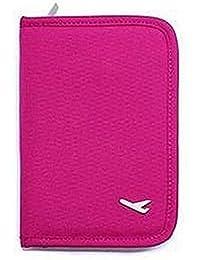 Glive's Buy 1 Get 1 Free Travel Mini Passport Holder Case Document Storage Pouch Organizer