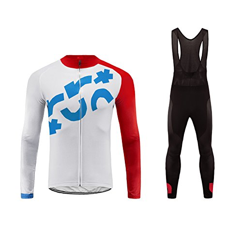 Uglyfrog Winter-Radjacke gepolsterte Lange Hose MTB Fahrrad-Fleece Warm Up Windbreaker Anzug Sets